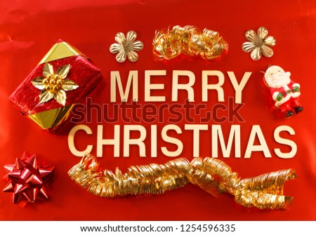 Merry Christmas Written Wooden Letters Christmas Stock Photo Edit