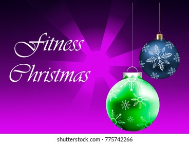 Merry Fitness Christmas and Happy New year