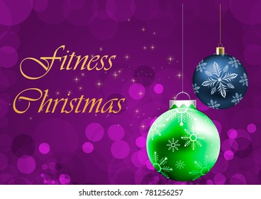 Merry Fitness Christmas and Happy New Fitness Year