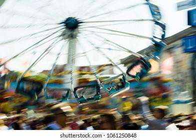 merry-go-round on octoberfest