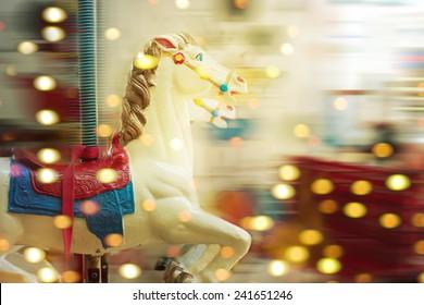 A merry-round-go