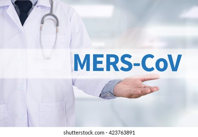 MERS-CoV  Medicine doctor hand working