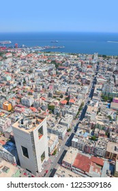 Mersin city center view from top of skyscaper - Mersin, Turkey
