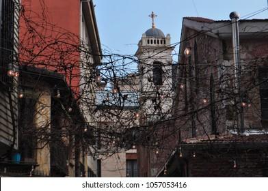 Meryem Ana Church in Karakoy, Istanbul belonging to Autocephalous Turkish Orthodox Patriarchate