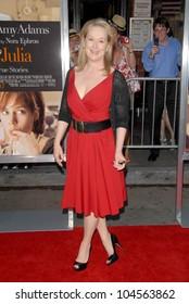 Meryl Streep at the Los Angeles Special Screening of 'Julie and Julia'. Mann Village Theatre, Westwood, CA. 07-27-09