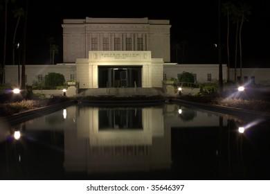 The Mesa Arizona temple of the Church of Jesus Christ of Latter-day Saints
