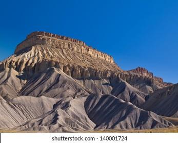 Mesa Rising Above the desert, Grand Junction, Colorado
