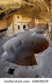 Mesa Verde National Park, Balcony House , Anasazi kiva