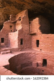 Mesa Verde National Park, CO/Mesa Verde/ This ancient cliff dwelling was home to hundreds of Anasazi Pueblo Indians less than one thousand years ago. It is a well visited tourist attraction.