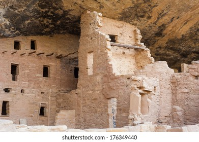 Mesa Verde National Park covers 52000 acres in southwestern Colorado. Its canyons were created by erosion from receding ancient oceans and waterways.