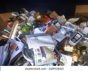 Mesa,Az/USA - 9.8.19:  City of Mesa, Arizona announced that the  Recycling Drop-off Centers are Indefinitely Closed due to operating costs