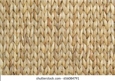 Meshwork of wooden reed wicker texture background