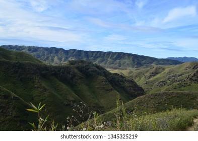 A mesmerizing view of Dzukou Valley, Nagaland, India.