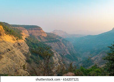 "Mesmerizing view at  Matheran a hill station near Mumbai, Maharashtra on Sahyadri range of western ghat a ""hottest hot-spots"" of biological diversity in the world & UNESCO World Heritage Site."