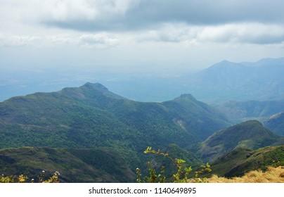 """Mesmerizing views of Kodaikanal"" - Suicide Point, Green Valley."