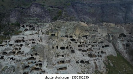 Mesopotamia, the ancient city of Hasankeyf, caves in the rock