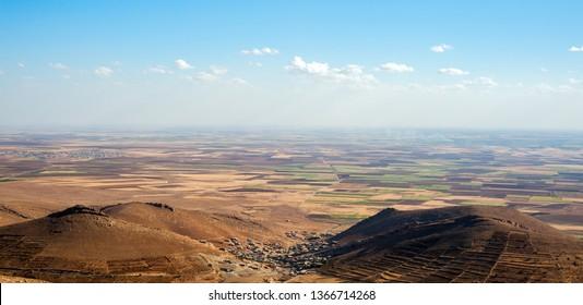Mesopotamia plain view,Mardin,Turkey