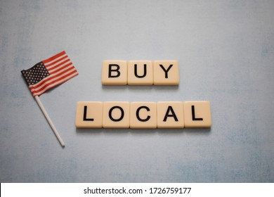 Message to buy local for the economy