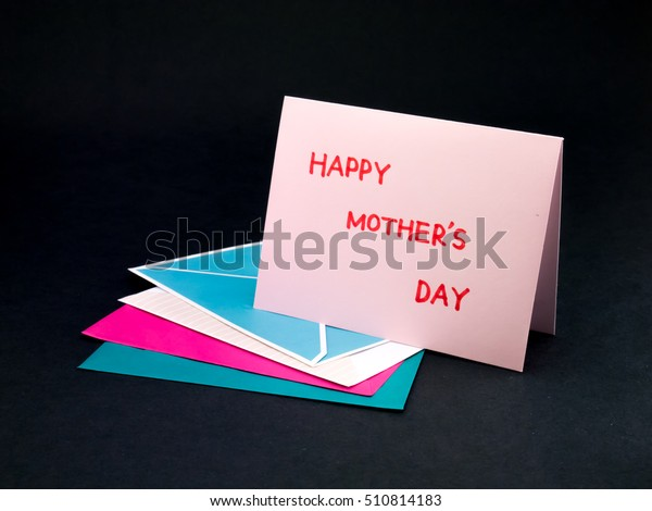 Message Card Your Family Friends Happy Stock Photo (Edit Now