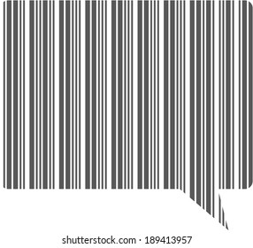 Messaging Barcode Icon
