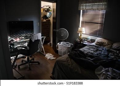 messy boys room