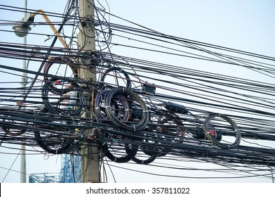 Messy Wiring Images Stock Photos Vectors Shutterstock