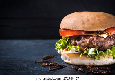 Messy Burger Hd Stock Images Shutterstock
