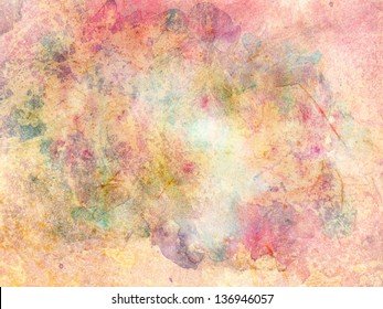 messy rainbow watercolor background texture