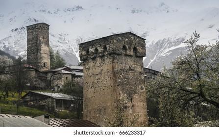 Mestia svaneti / Georgia