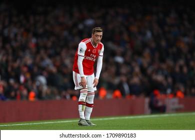 Mesut Ozil of Arsenal - Arsenal v Wolverhampton Wanderers, Premier League, Emirates Stadium, London, UK - 2nd November 2019