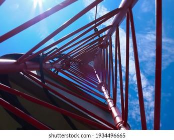 met mast wind , Transmission tower