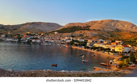 Metajna is a village in Croatia, in the municipality of Novalja. It is located in the Bay of Pag on the island of Pag.