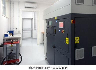 Metal 3D printer - Direct metal laser sintering (DMLS) is an additive manufacturing technique that uses a laser fired into a bed of powdered metal.