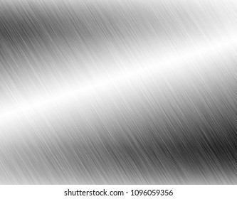Metal background abstract with reflection