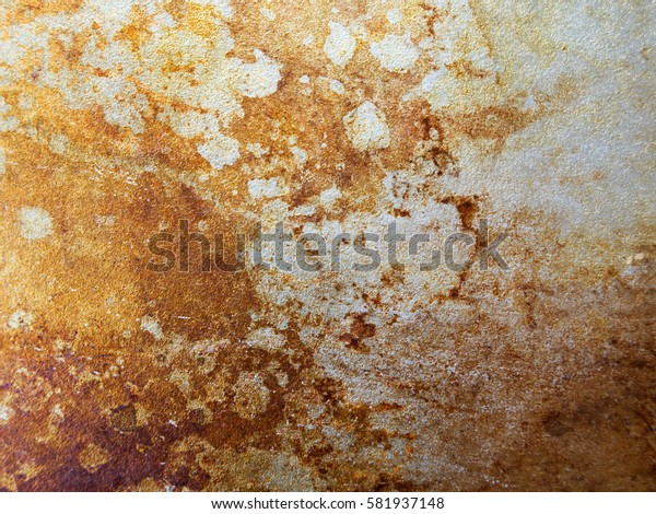 Metal background with areas of rust