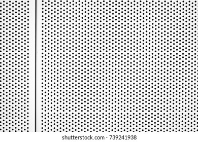 metal background with circles, blue tone, great for your design,Metallic background with perforation of round holes,White metal plate with dots