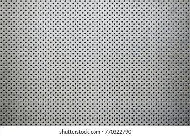 metal background dot pattern