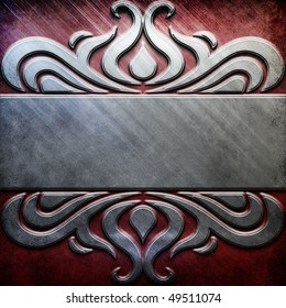 metal background - silver and red gold collection (You can find more templates and textures in my portfolio)
