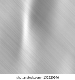 Metal background or texture of brushed steel  plate