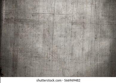 Metal baking tray background