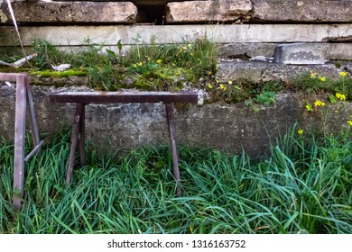 Pleasant Wood Block Bench Images Stock Photos Vectors Shutterstock Evergreenethics Interior Chair Design Evergreenethicsorg