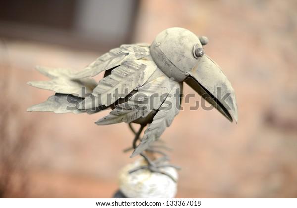 metal bird