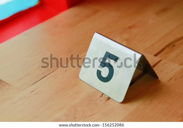 the metal board that screen number 5