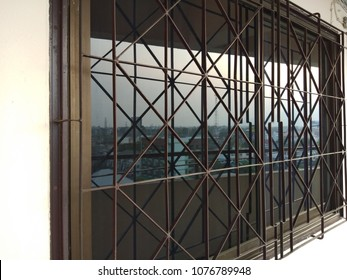 Window Grill Images, Stock Photos & Vectors   Shutterstock