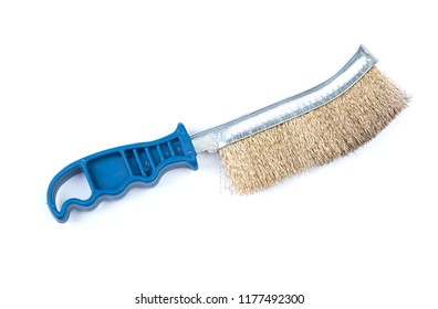 Metal brush grinder isolated on white background