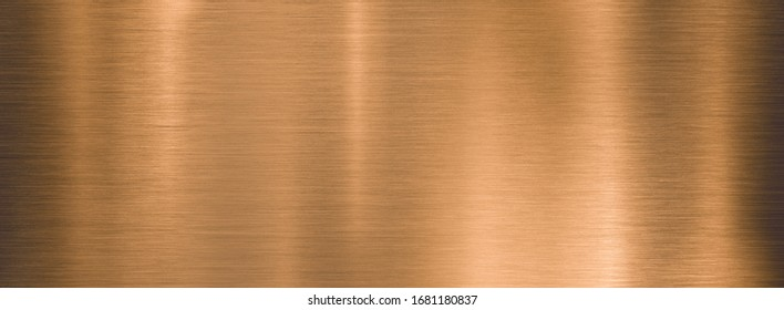 metal brushed bronze wide textured plate or plaque