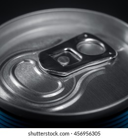 metal can of soda