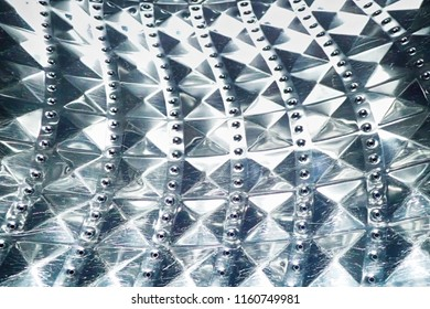 metal chrome texture from dryer machine as nice background
