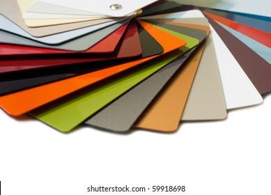 Metal color palette