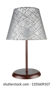 Metal Desk Lamp / Lampshade on isolated background